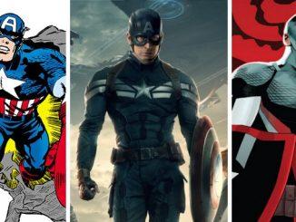 Les 5 meilleurs costumes de Captain America