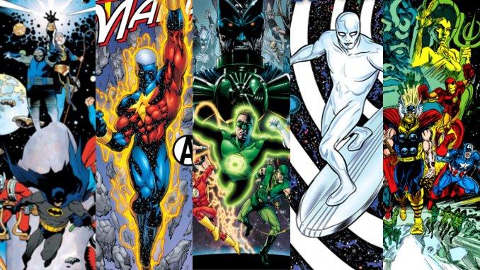 7 grandes sagas cosmiques Marvel et DC à lire ou relire