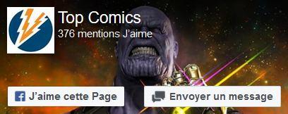 suivre Top Comics sur Facebook