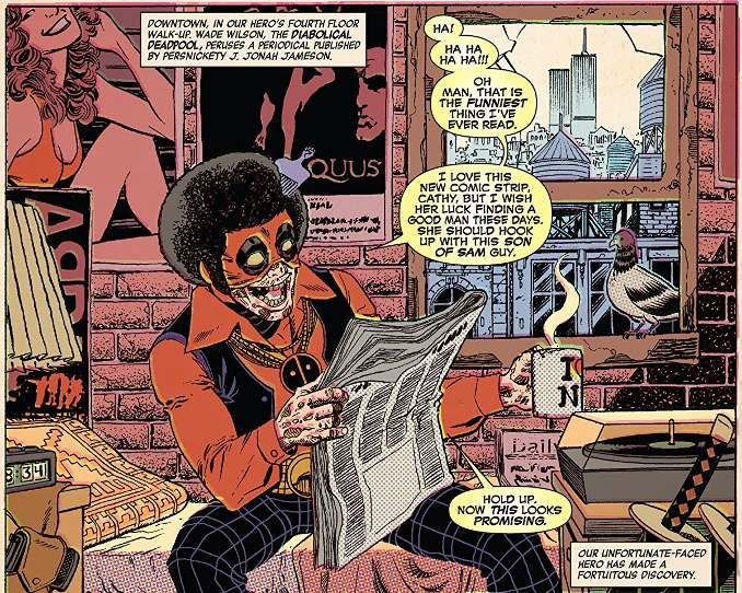 Le passé tragique de Deadpool dévoilé dans un album très drôle