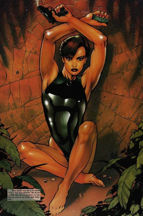 Quand les artistes Marvel dessinaient les super-héros… en maillots de bain !