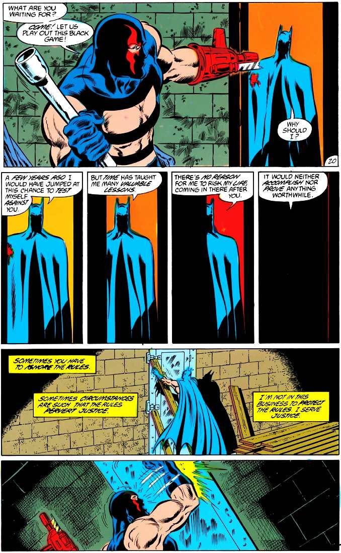 Batman laisse mourir KGBeast