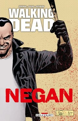Walking Dead Negan couverture