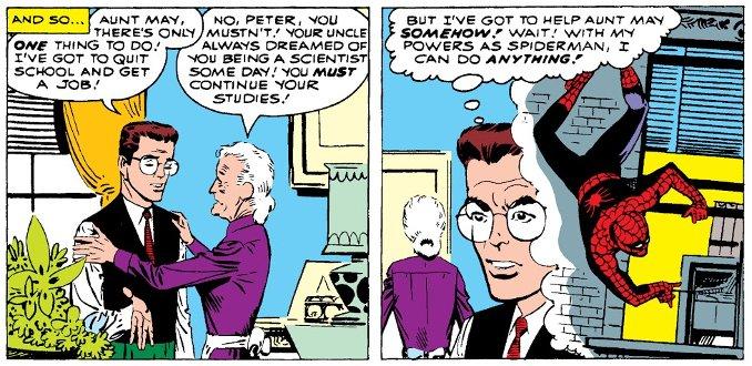 Les débuts de Steve Ditko sur Spider-Man