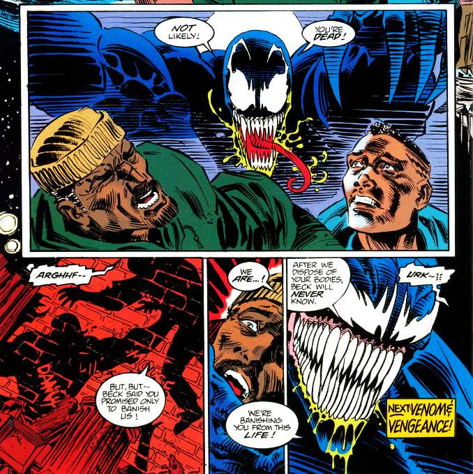 Venom contre les Super-Soldats [Venom : The Mace]