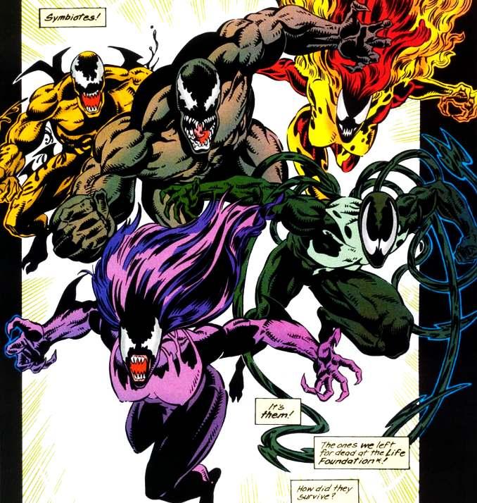 Venom dans la suite de Lethal Protector [Venom : Separation Anxiety]