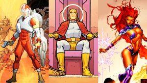 Les 15 héros cosmiques les plus puissants de DC Comics !