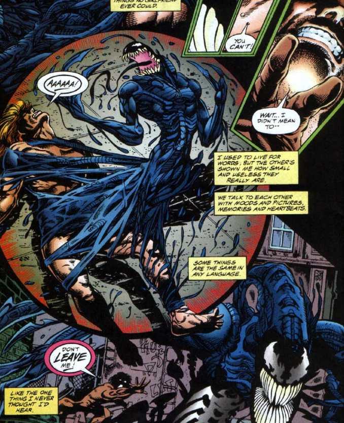 Venom gore et accro aux cerveaux dans une mini-série inédite en France! (Venom: The Hunger)