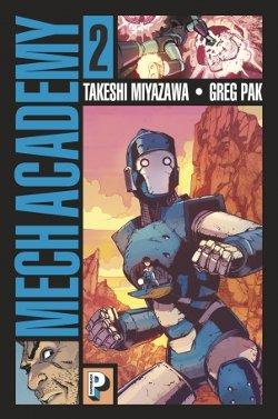 Mech Academy tome 2 couverture française