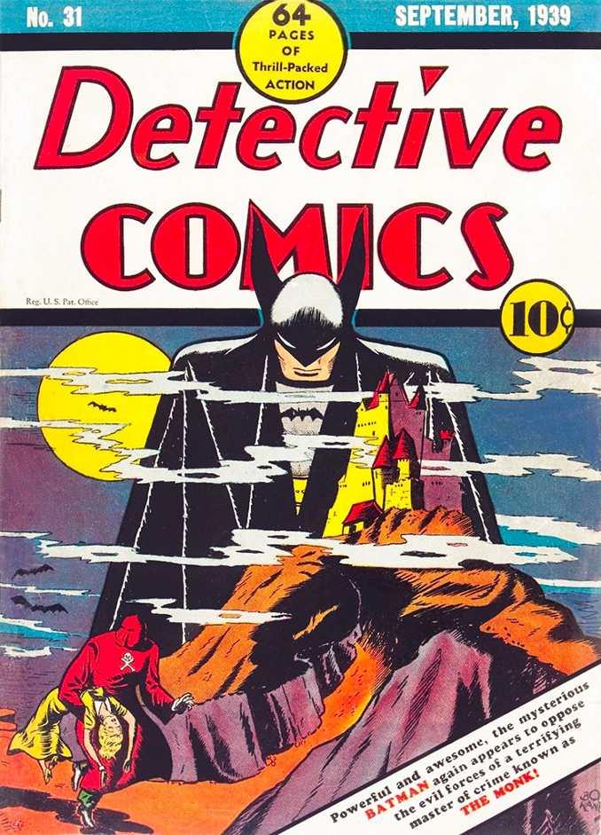 Couverture de Detective Comics 31