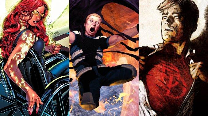 15 persos MARVEL et DC Comics qui se BATTENT malgré leur HANDICAP !
