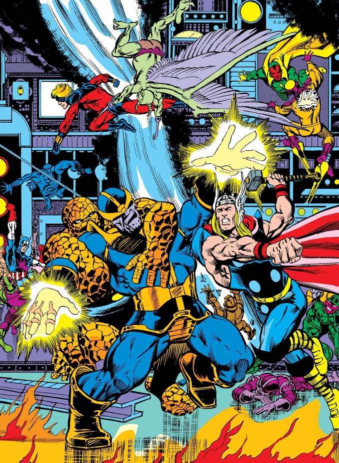 thanos combat avengers spider-man chose