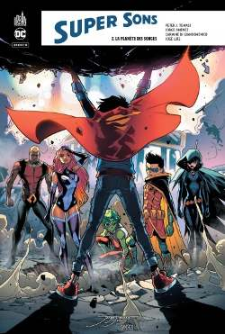 Super Sons tome 2 couverture avis critique review