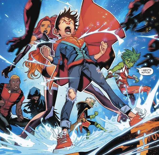 Super Sons tome 2 fils de Batman et Superman