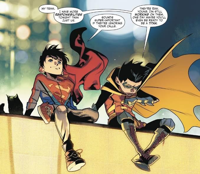 Super Sons tome 2 Damian et le petit Kent