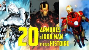 iron man armure tony stark