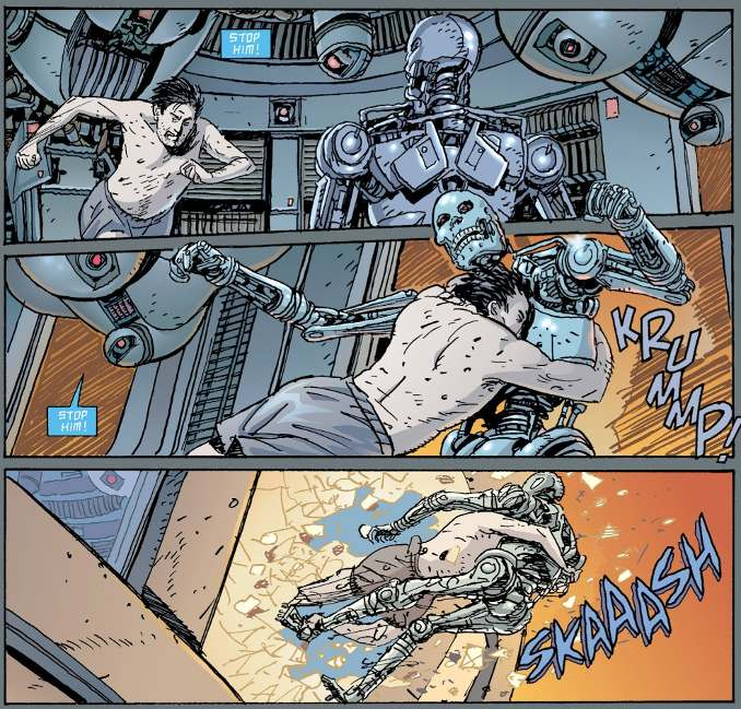comics terminator death valley