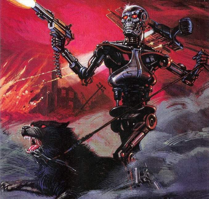 comics terminator all my future's past