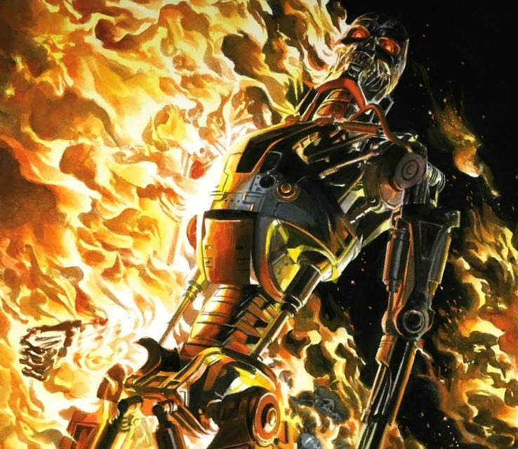 comics terminator burning earth alex ross