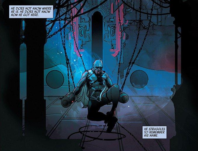 Black Bolt flèche noire prison