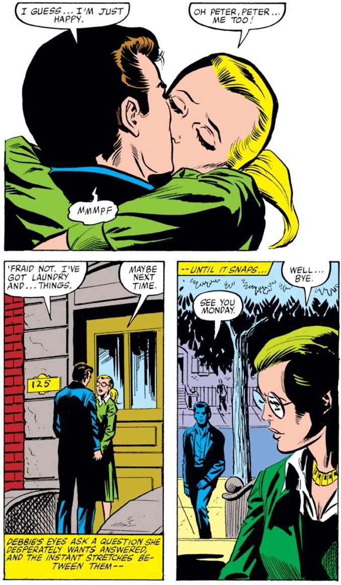 la vie sexuelle des superhéros spider-man debra whitman