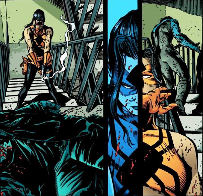 dick grayson robin titans meurtre Blockbuster