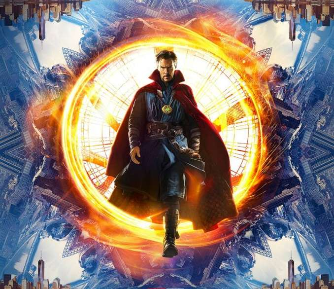 inspiration films Marvel MCU dr strange