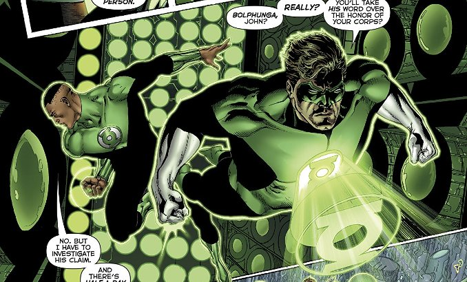 green lantern rebirth tome 4