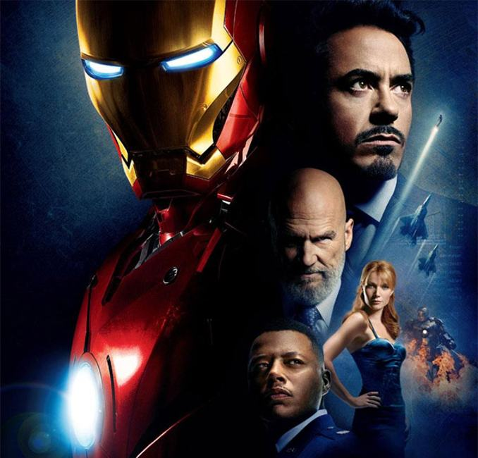 inspiration films Marvel MCU Iron Man