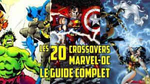 crossovers marvel contre DC comics