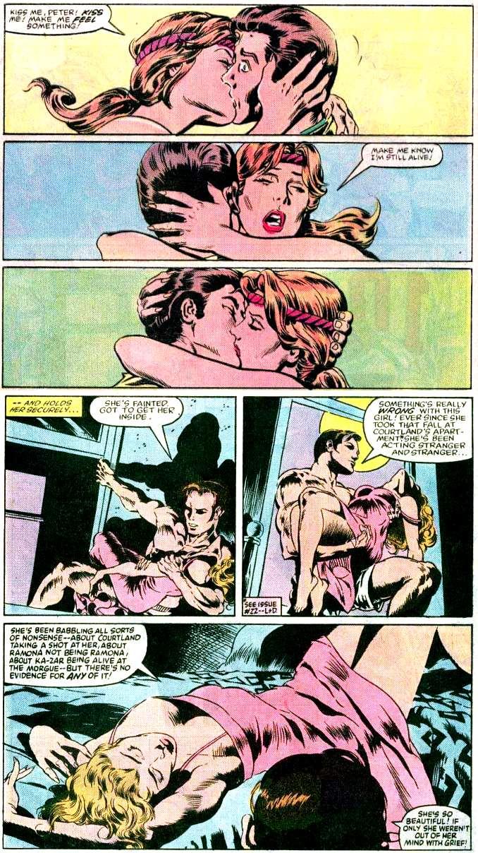 la vie sexuelle des superhéros spider-man shanna