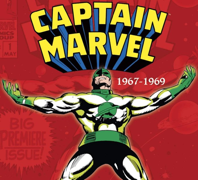 intégrale captain marvel tome 1 1967-1969