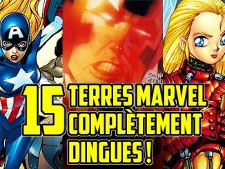 15 univers parallèle Marvel Terres