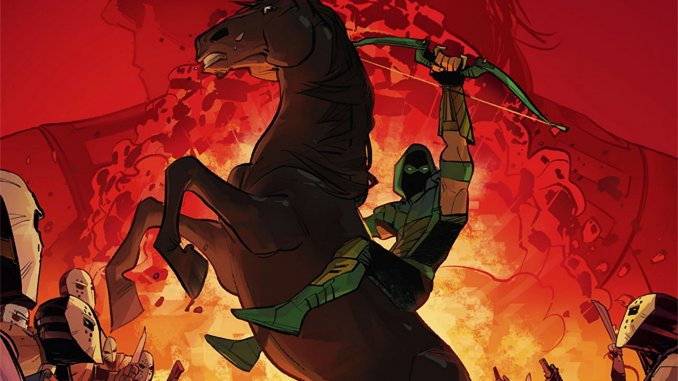 1 - Top Comics Green-arrow-rebirth-tome-4-avis-critique-review
