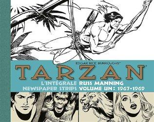 Tarzan intégrale des strips de Russ Manning