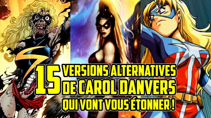 version alternative Carol Danvers