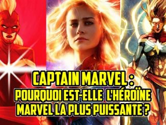 pouvoirs Captain Marvel