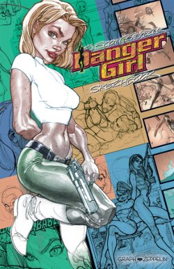 danger girl sketchbook