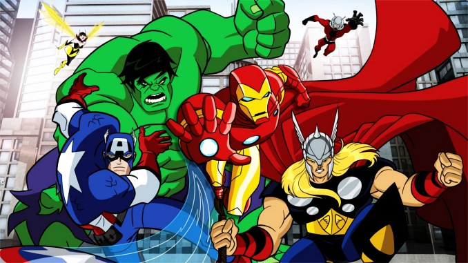 1 - Top Comics Avengers-l-equipe-des-superheros-dessin-anime-meilleure-adaptation-comics-marvel