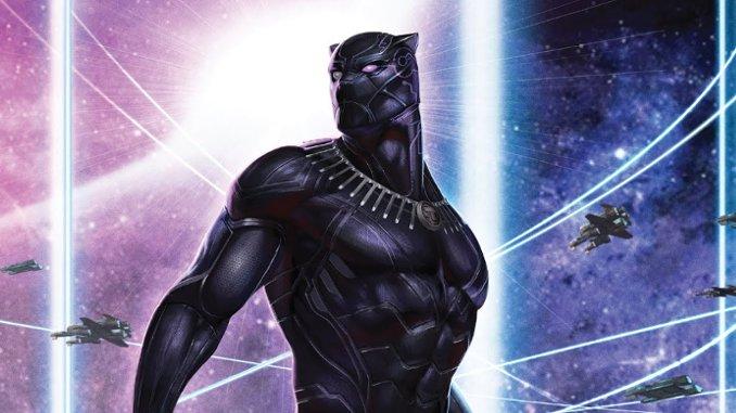 Black Panther Tome 1 Etonnante Panthere Noire En Mode Star Wars