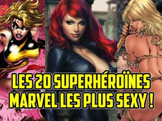 superhéroïnes sexy Marvel
