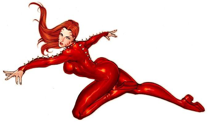 superhéroïnes sexy Marvel