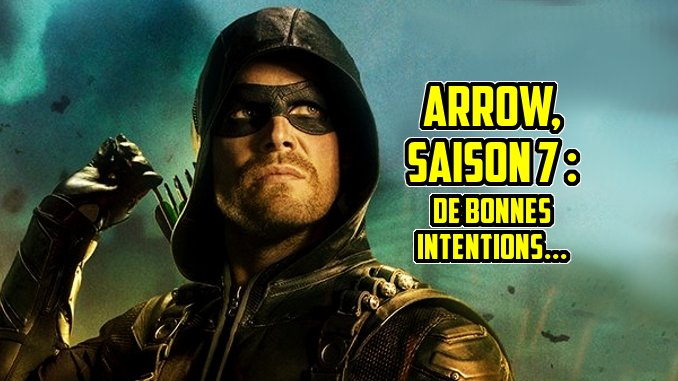 arrow saison 7 netflix