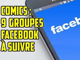 groupes facebook comics