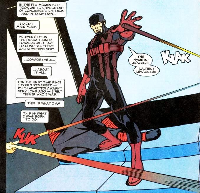 Matt Murdock Daredevil Laurent Levasseur agent du shield