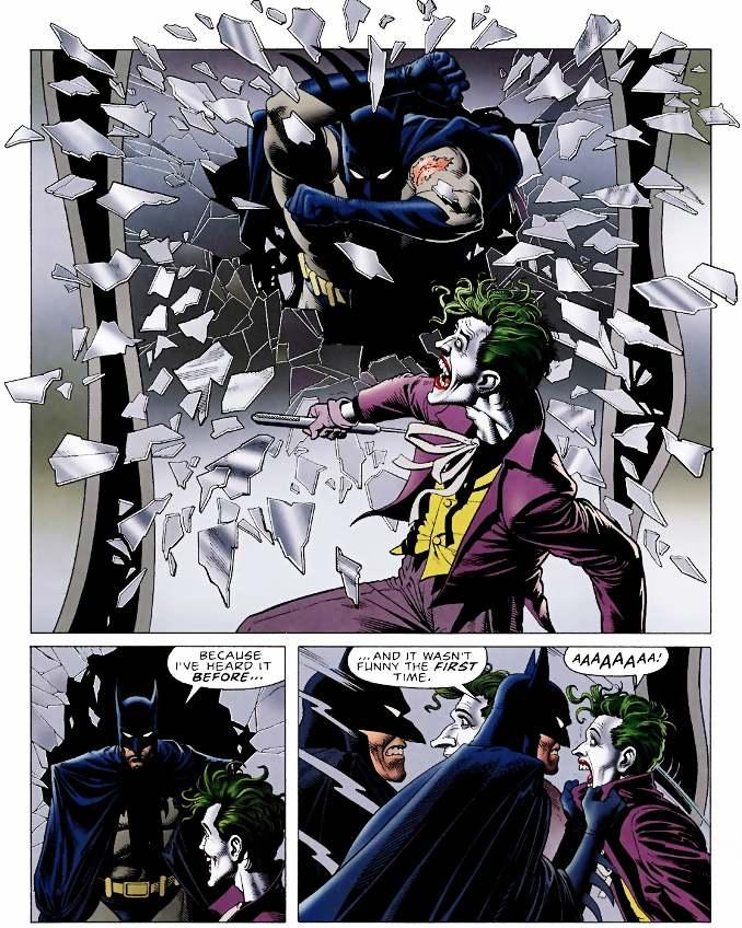 combat Batman Joker