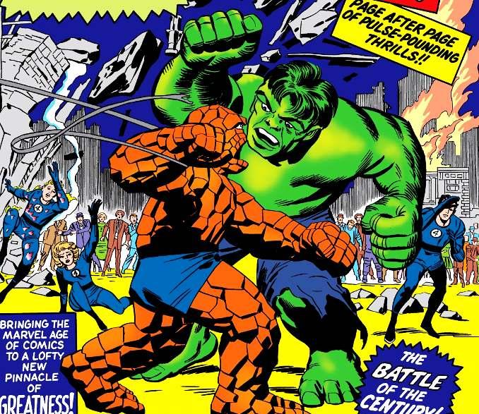 combat Hulk Chose