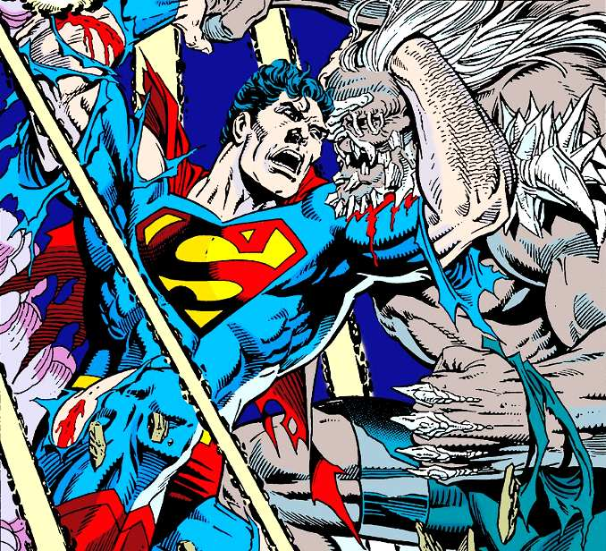 combat superman doomsday