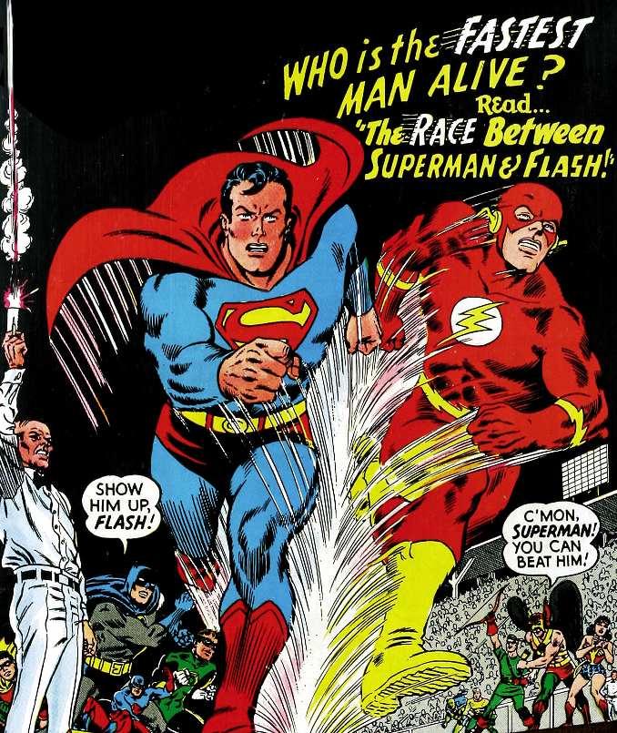 combat Flash Superman course