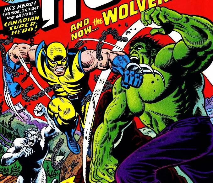 combat hulk Wolverine